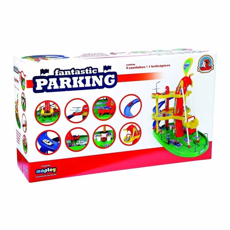 Pista de Percurso - Garagem Fantastic Parking - Maptoy