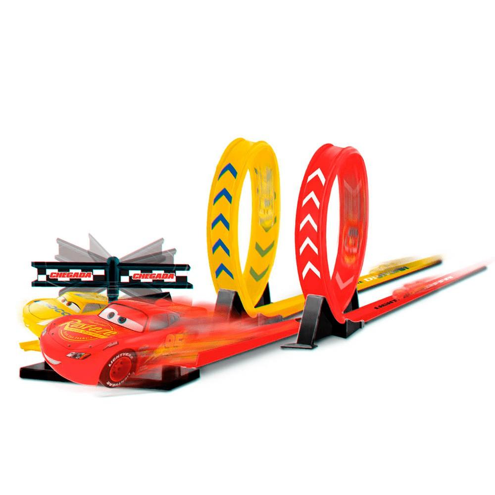 Pista Piston Cup Desafio Duplo - Carros Disney - Toyng