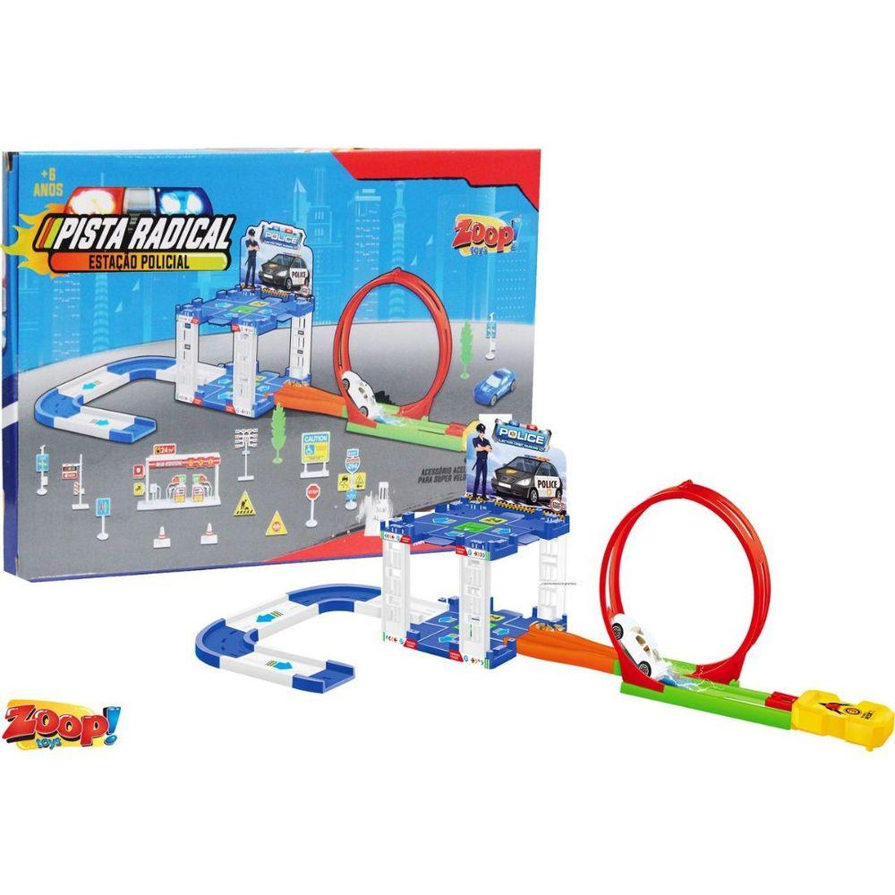 Pista Radical - Estação Policial - Zoop Toys