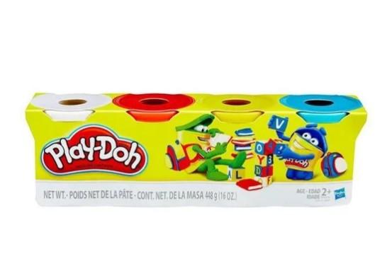 Play-Doh - 4 Potes - Hasbro