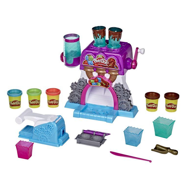 Conjunto de Massinhas - Play-Doh Kitchen Creation - Fábrica de Chocolate - Hasbro