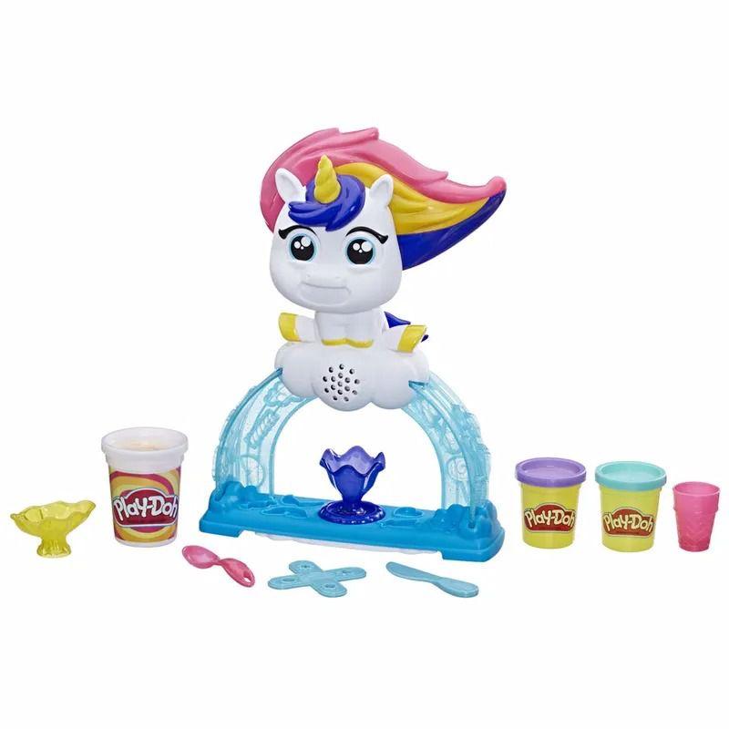 Play-Doh - Tootie Unicórnio - Fábrica de Sorvetes - Hasbro