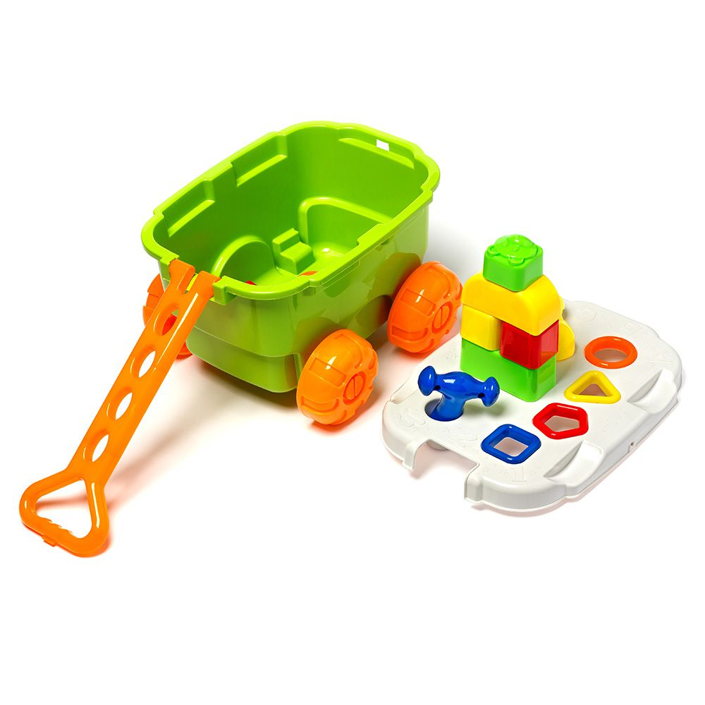 Play Time - Carrinho com Blocos Didáticos - Cotiplás