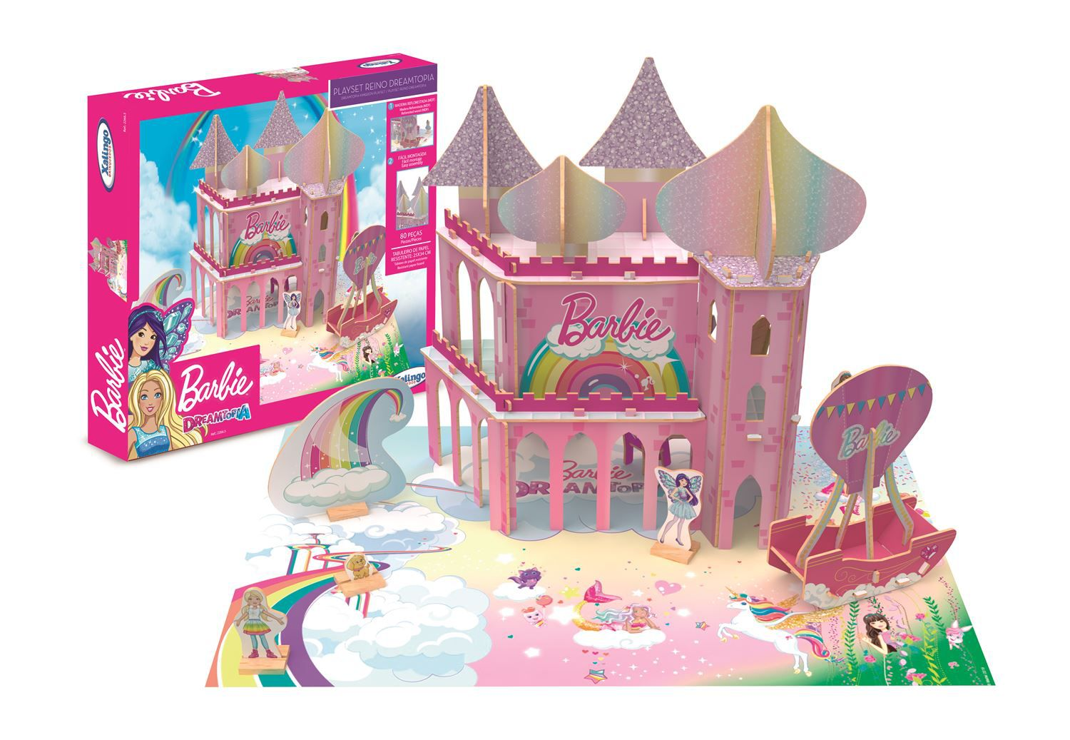 Playset Barbie - Reino DreamTopia - Xalingo