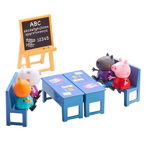 Playset e Mini Figuras - Peppa Pig - Sala de Aula da Peppa - DTC