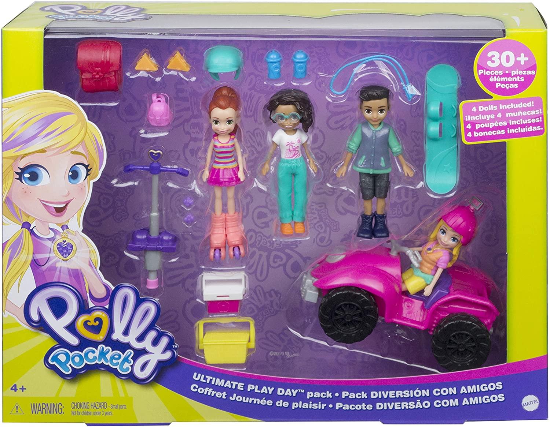 Polly Pocket - Diversão Com Amigos - Mattel