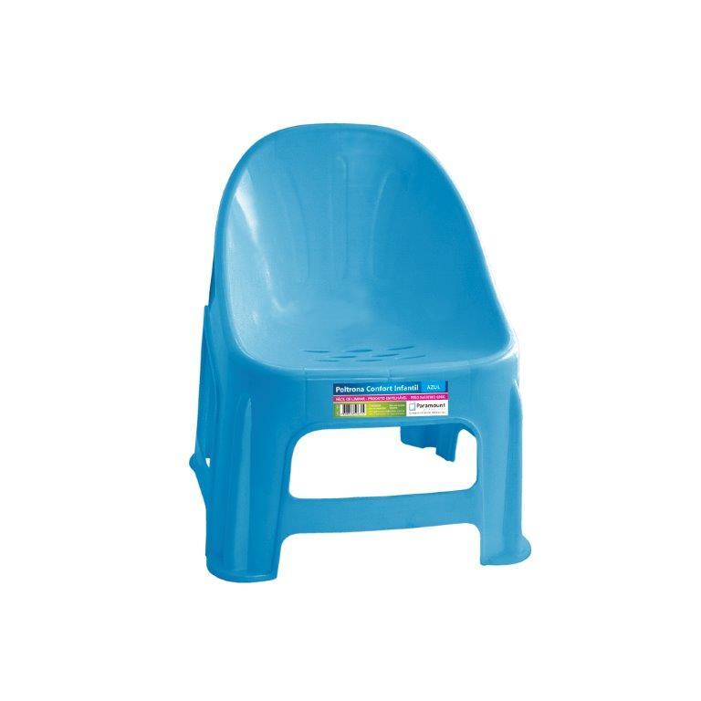 Poltrona Infantil - Azul - Paramount