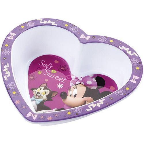 Prato Fundo - Minnie - Coração - Multikids