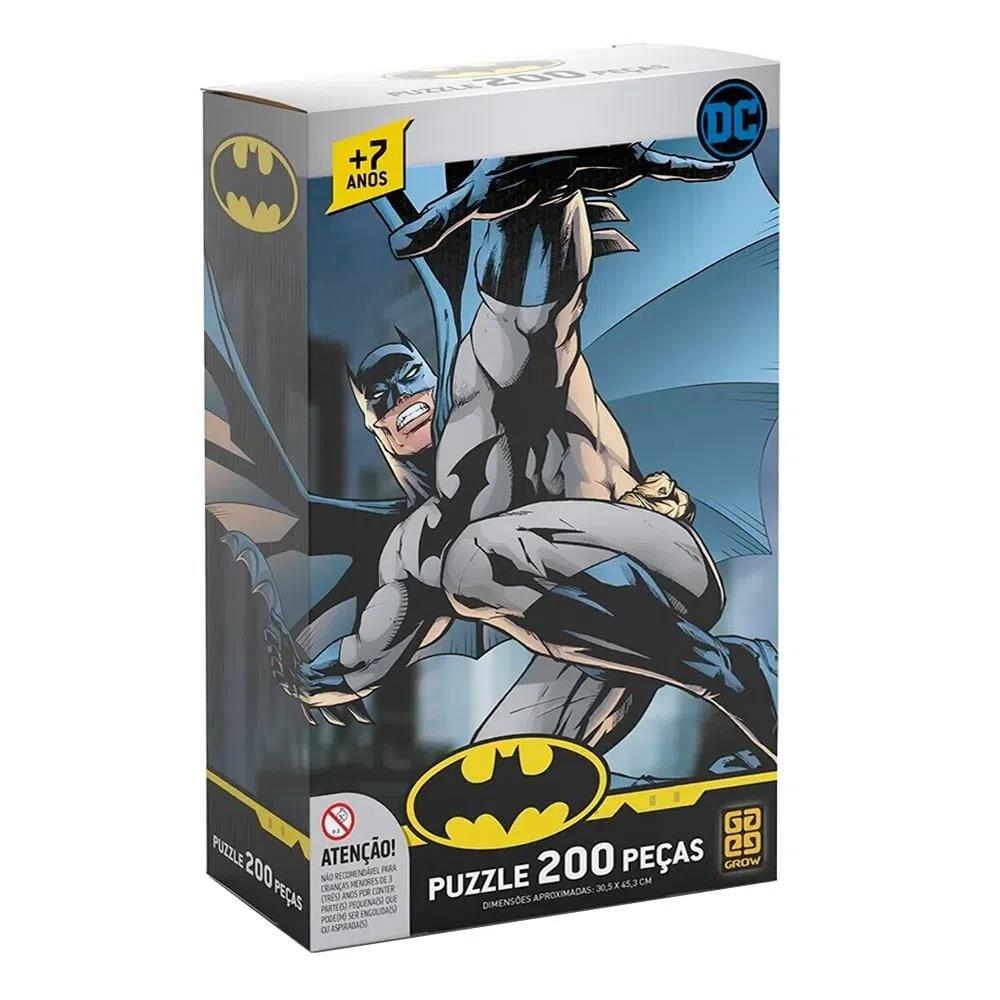 Quebra-Cabeça - Batman - 200 peças - DC Comics - Grow