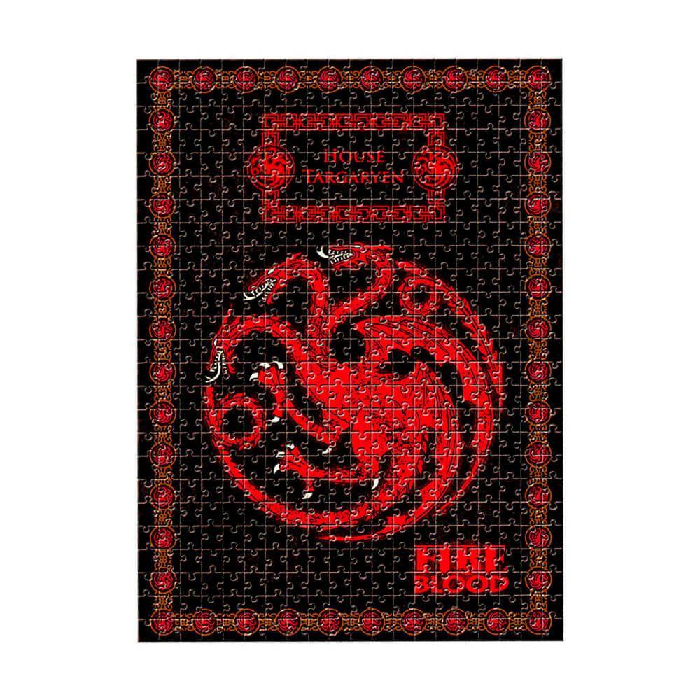 Quebra-Cabeça - Casa Targaryen - Game of Thrones - 500 Peças - Estrela