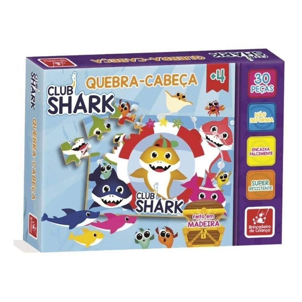 Quebra Cabeça - Club Shark - Brincadeira de Criança