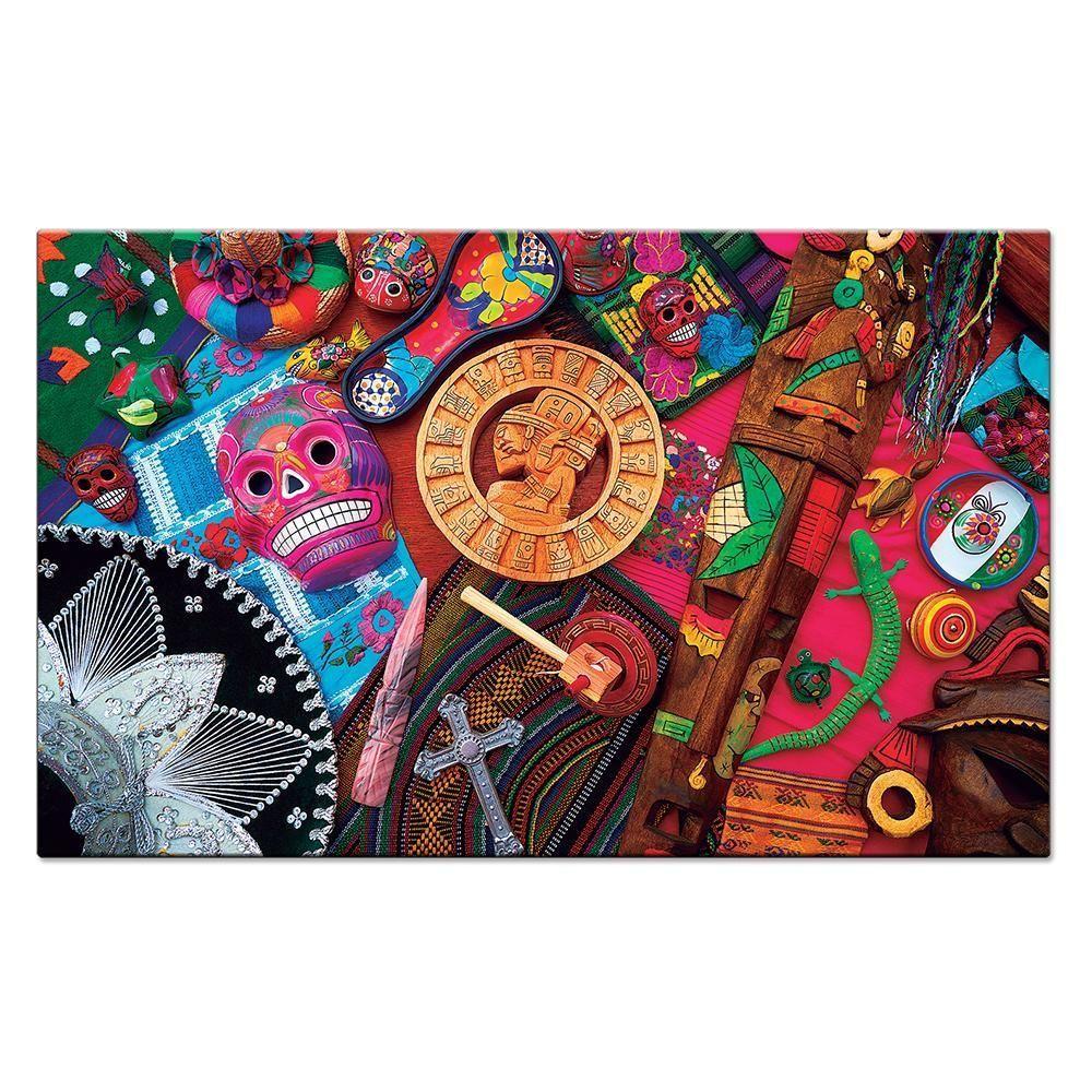 Quebra-Cabeça - Culturas do Mundo - México - 2000 Peças - Toyster