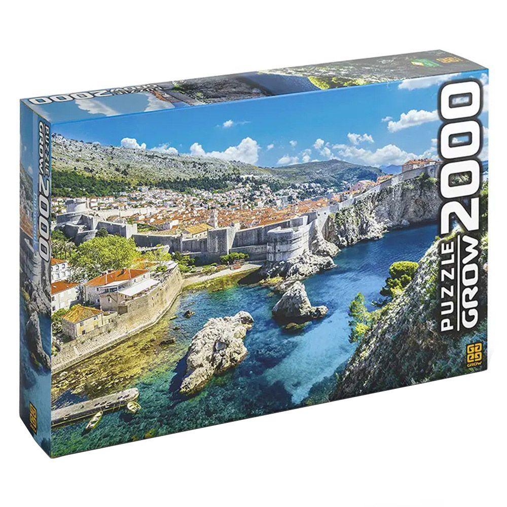 Quebra-Cabeça - Dubrovnik - 2000 peças - Grow