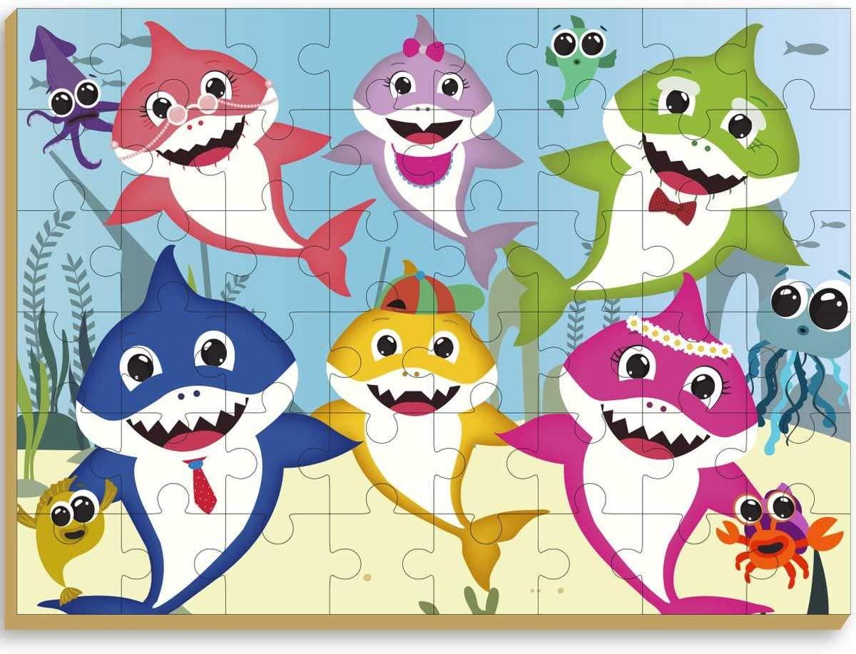 Quebra Cabeça Gigante - Club Shark - Brincadeira de Criança