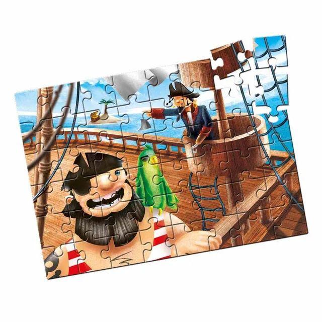 Quebra-Cabeça - Grandão Piratas 48 peças. - Estrela