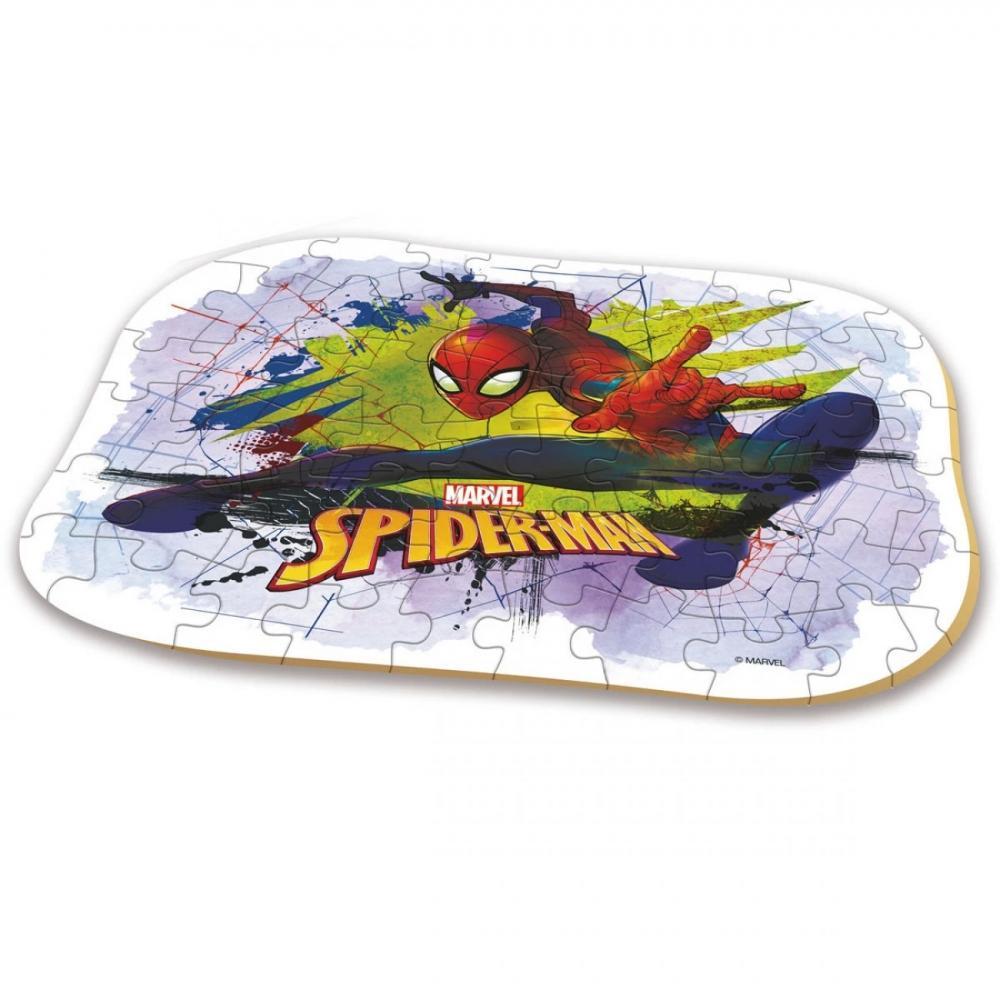 Quebra-Cabeça - 60 peças - Homem Aranha - Xalingo