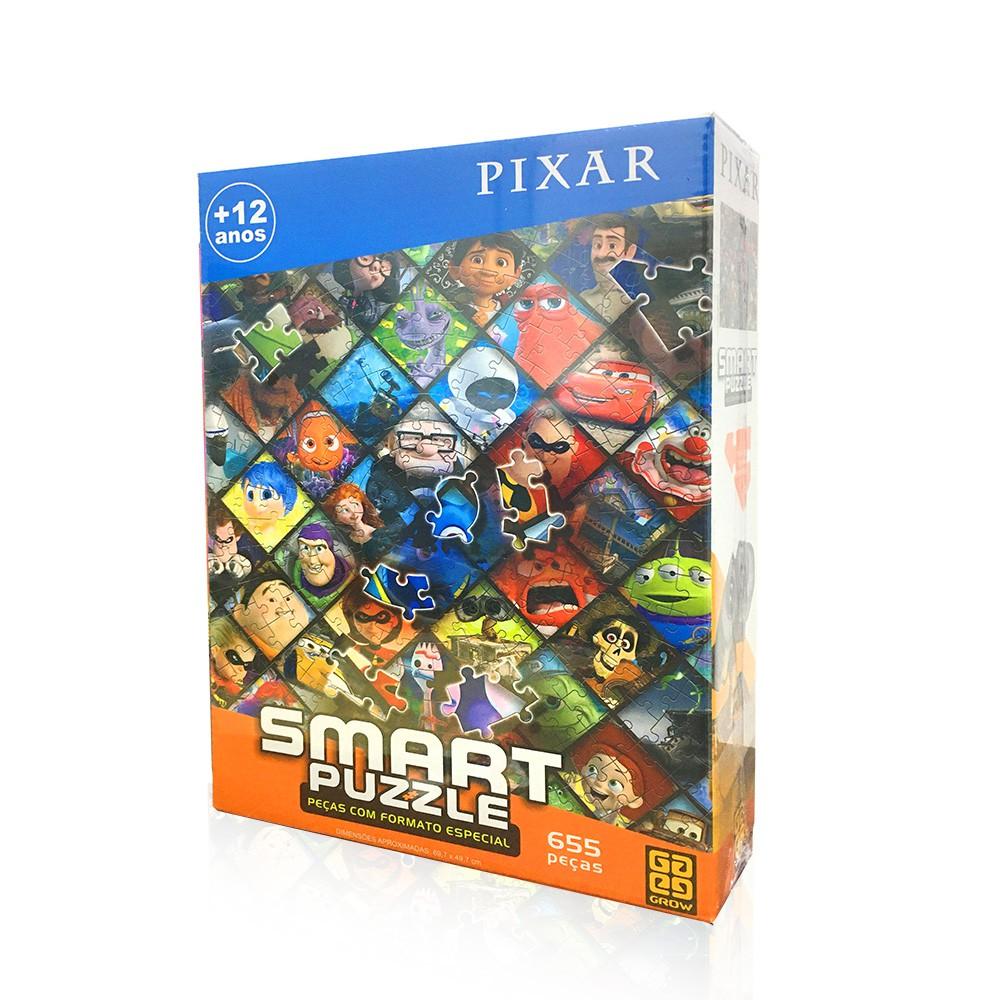 Quebra-Cabeça Inteligente - Pixar - 655 peças - Grow