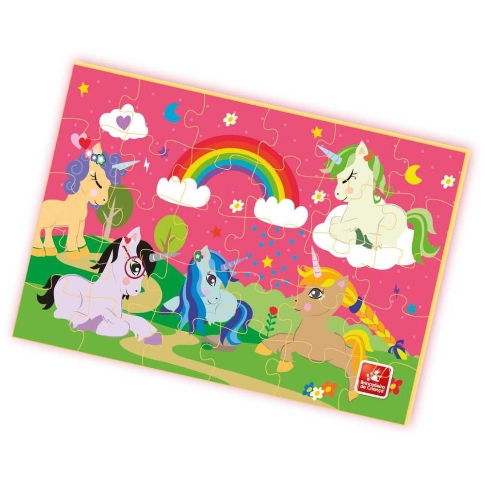 Quebra Cabeça - My Little Unicorn - Brincadeira de Criança