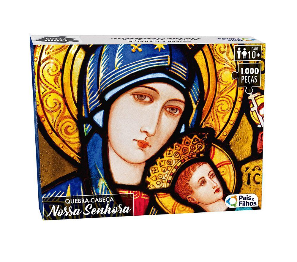 Quebra-Cabeça - Nossa Senhora - 1000 peças - Pais e Filhos