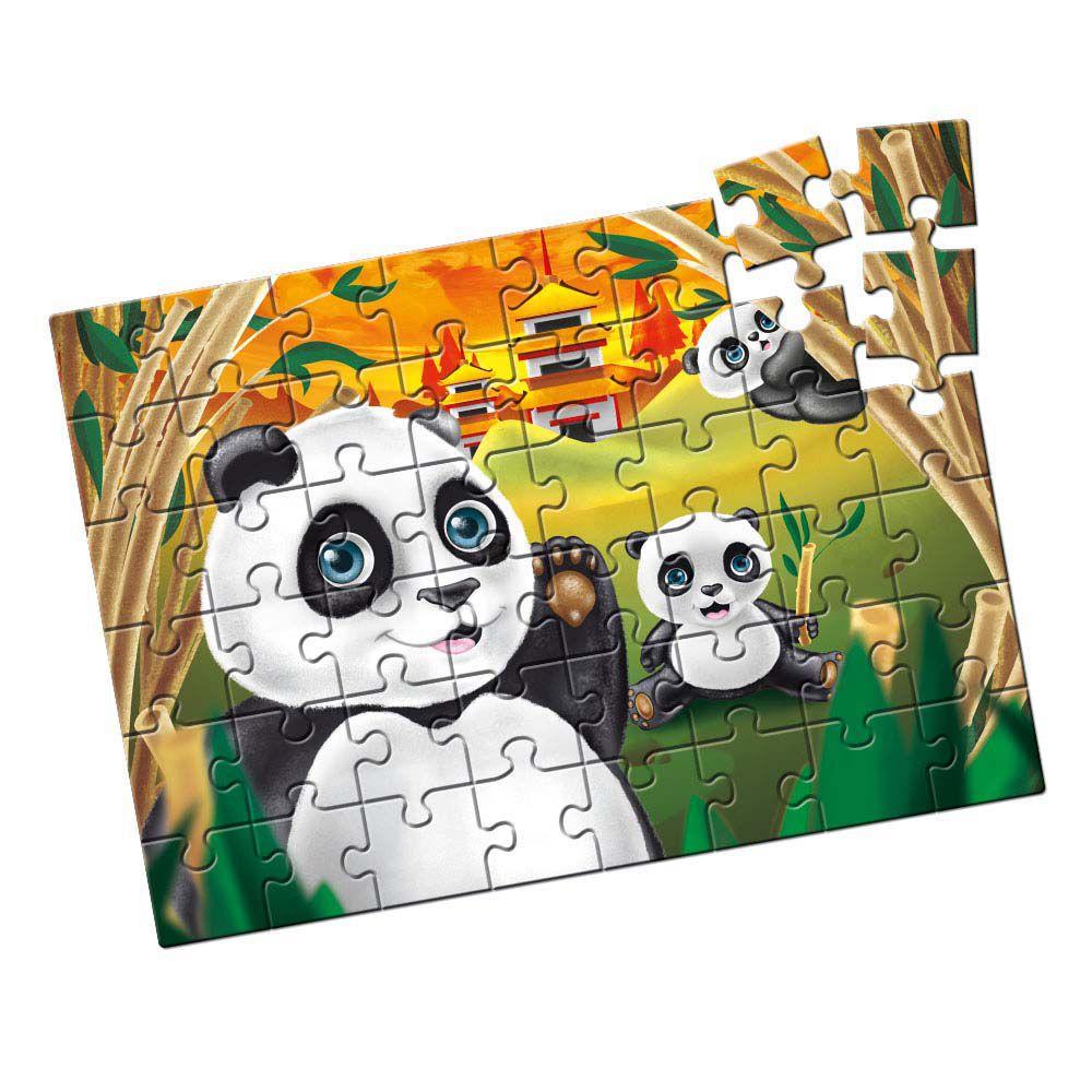 Quebra-Cabeça - Pandas 48 peças - Estrela