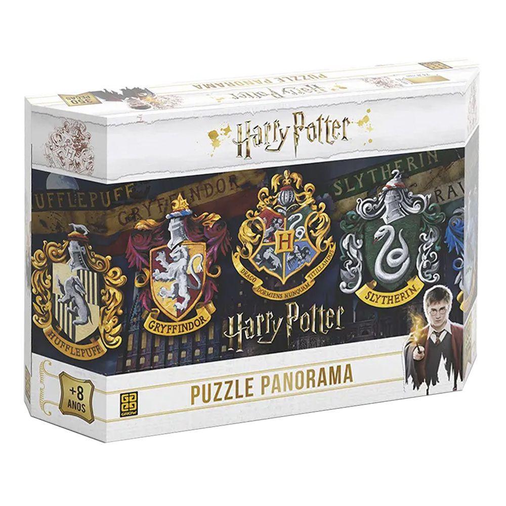 Quebra-Cabeça Panorama Harry Potter- 350 Peças - Grow