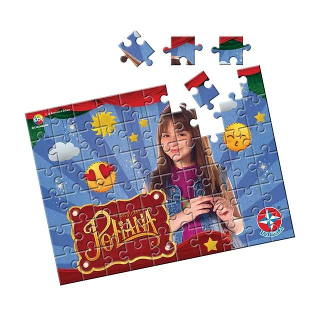 Quebra-Cabeça - Poliana 60 peças - Estrela