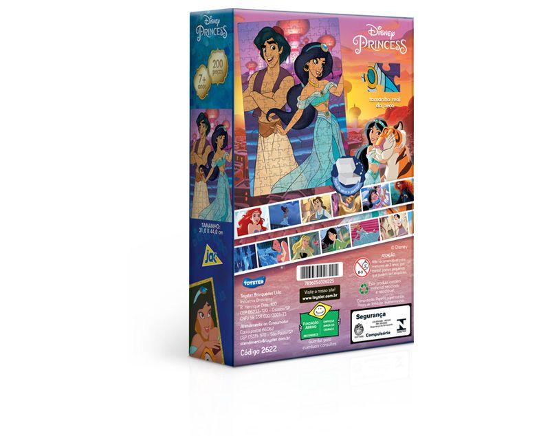 Quebra-Cabeça - Aladdin - 200 peças - Toyster