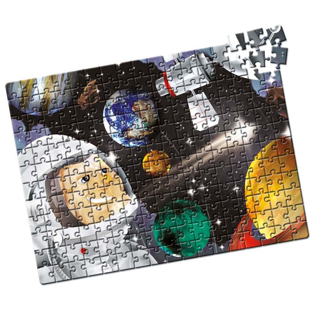 Quebra-Cabeça Sistema Solar - 200 Peças - Estrela
