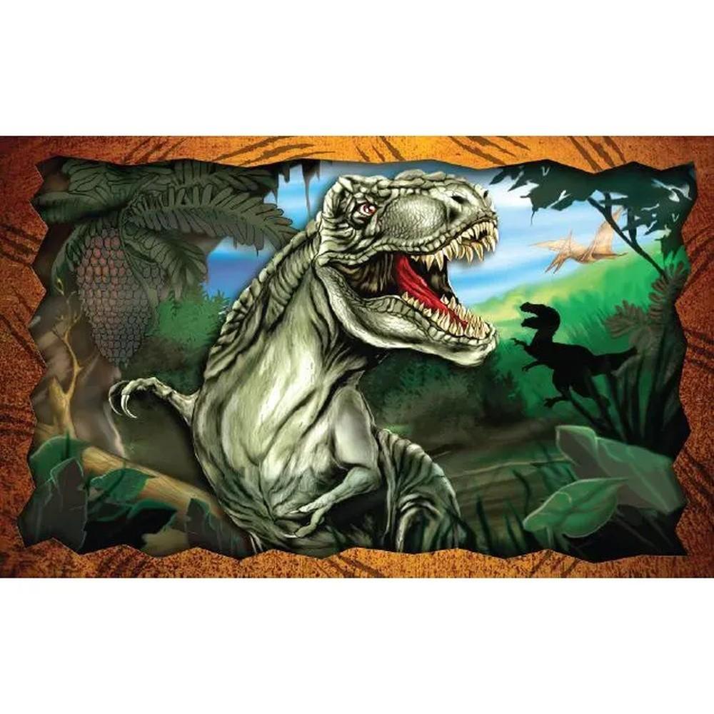 Quebra-Cabeça - T-Rex - 150 peças - Pais e Filhos