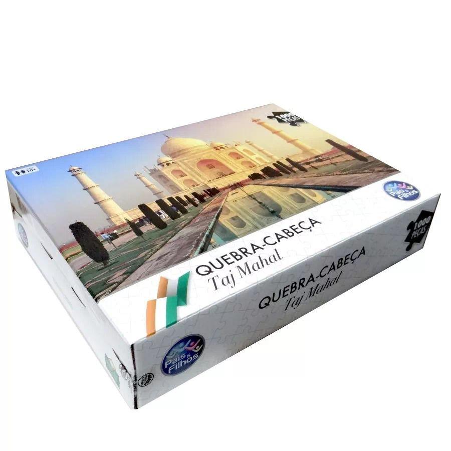 Quebra-Cabeça - Taj Mahal - 1000 peças - Pais e Filhos