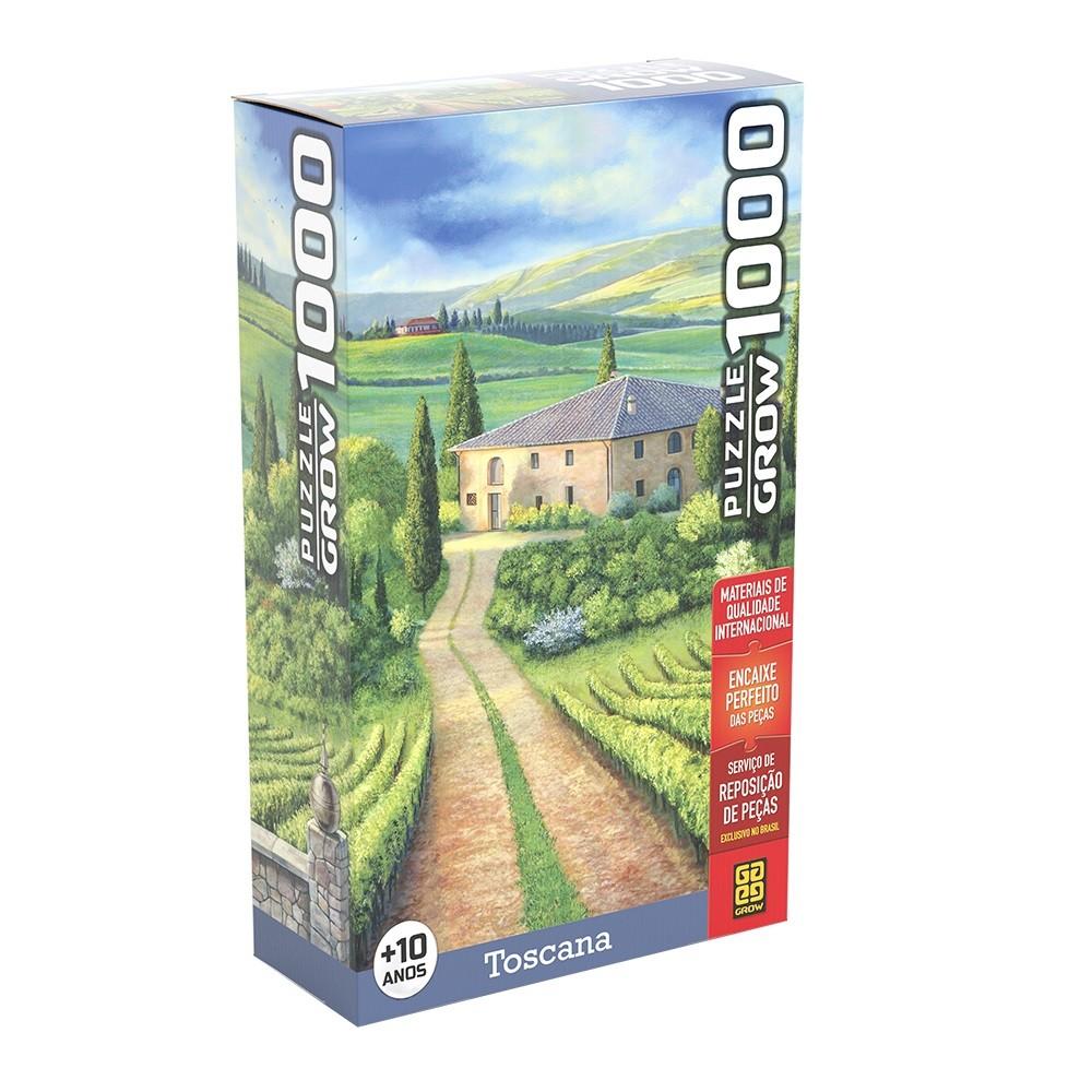 Quebra-Cabeça - Toscana - 1000 Peças - Grow