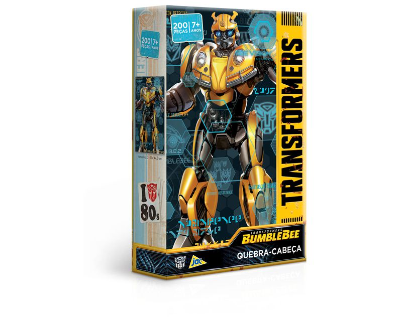 Quebra-Cabeça - Transformers - Bumblebee - 200 peças - Toyster