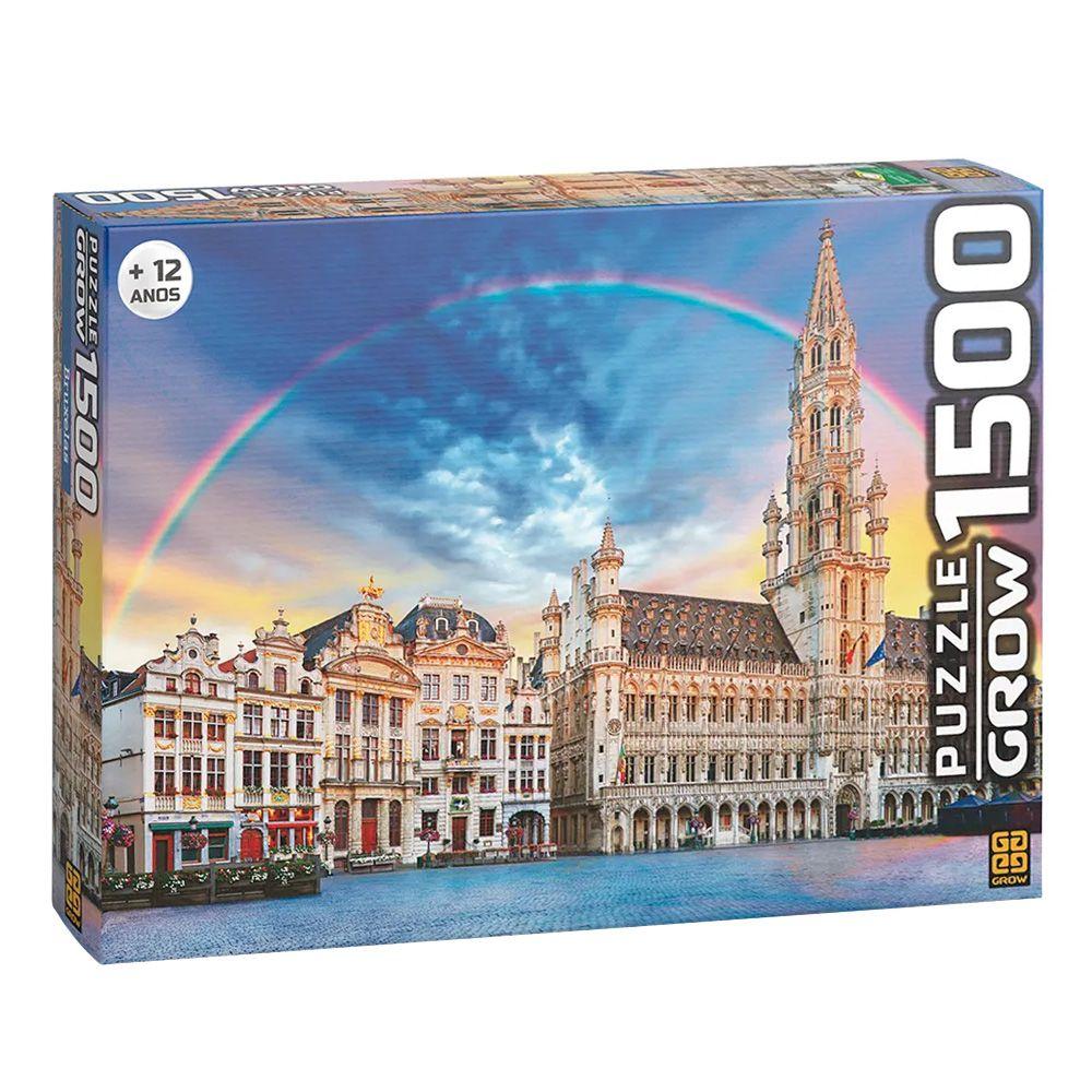 Quebra-Cabeça Bruxelas - 1500 Peças - Grow