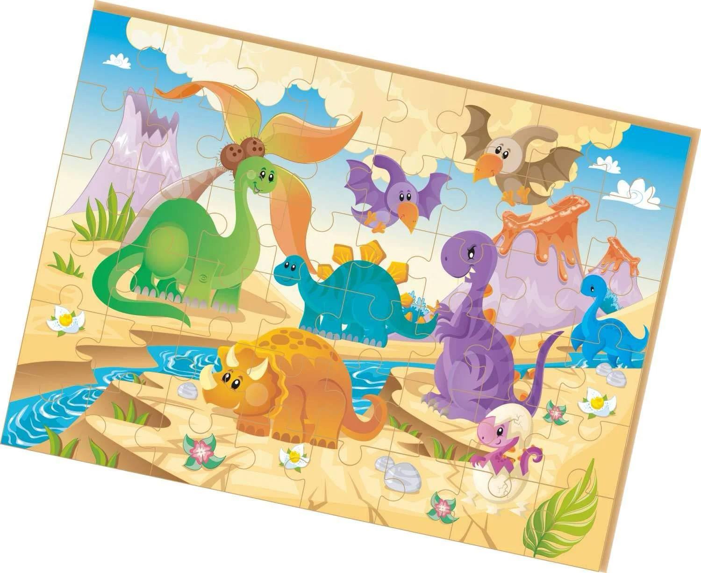 Quebra-Cabeças Gigante - Dinossauros - Brincadeira de Criança