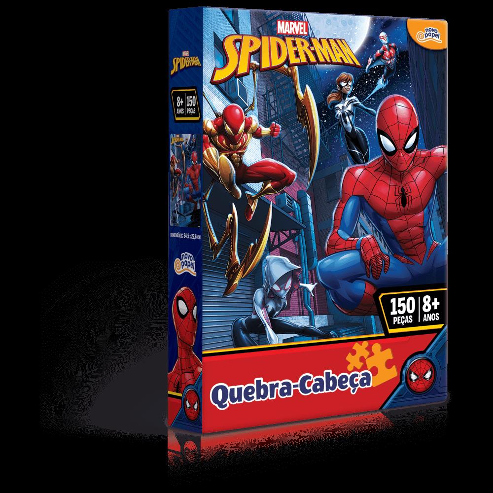 Quebra-Cabeça - Homem Aranha - 150 peças - Toyster
