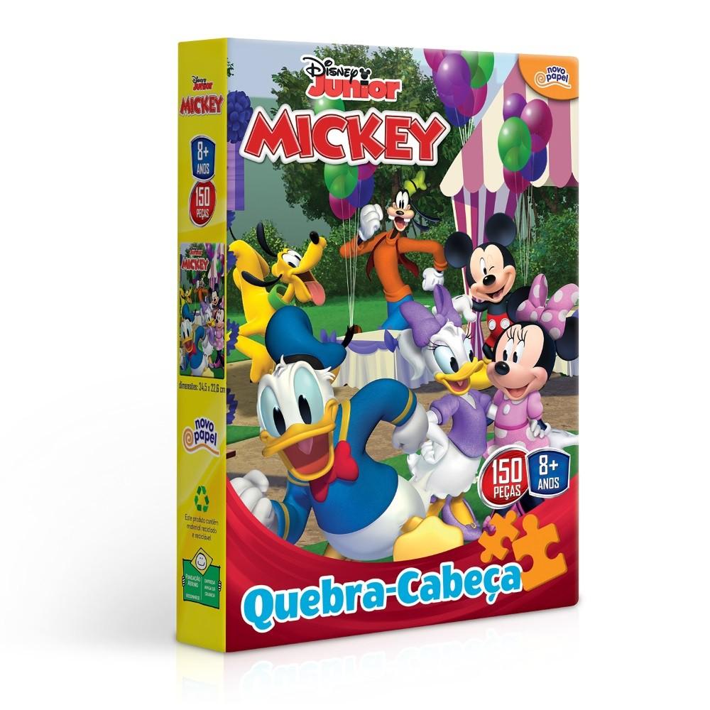Quebra-Cabeça - Mickey Mouse - 150 peças - Toyster