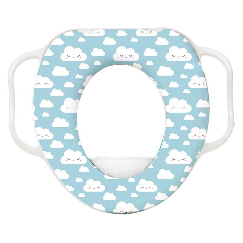 Redutor de Assento Infantil - Nuvem Azul - Buba