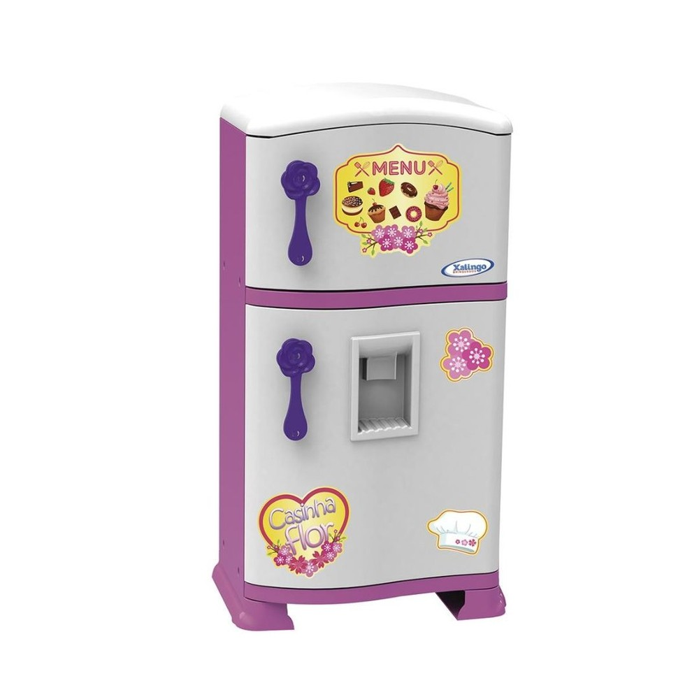 Refrigerador Pop - Casinha Flor - Xalingo