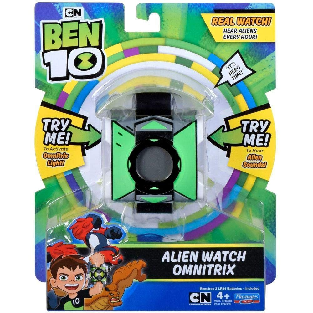 Relógio Digital - Alien Watch Omnitrix - Ben 10 - Com Sons e Luzes - Sunny