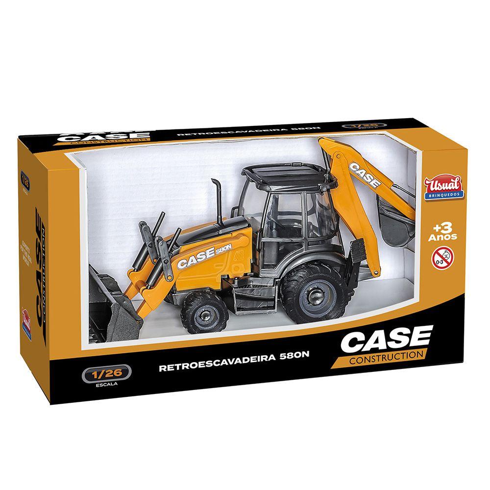 Retroescavadeira - Case Construction - Usual Brinquedos