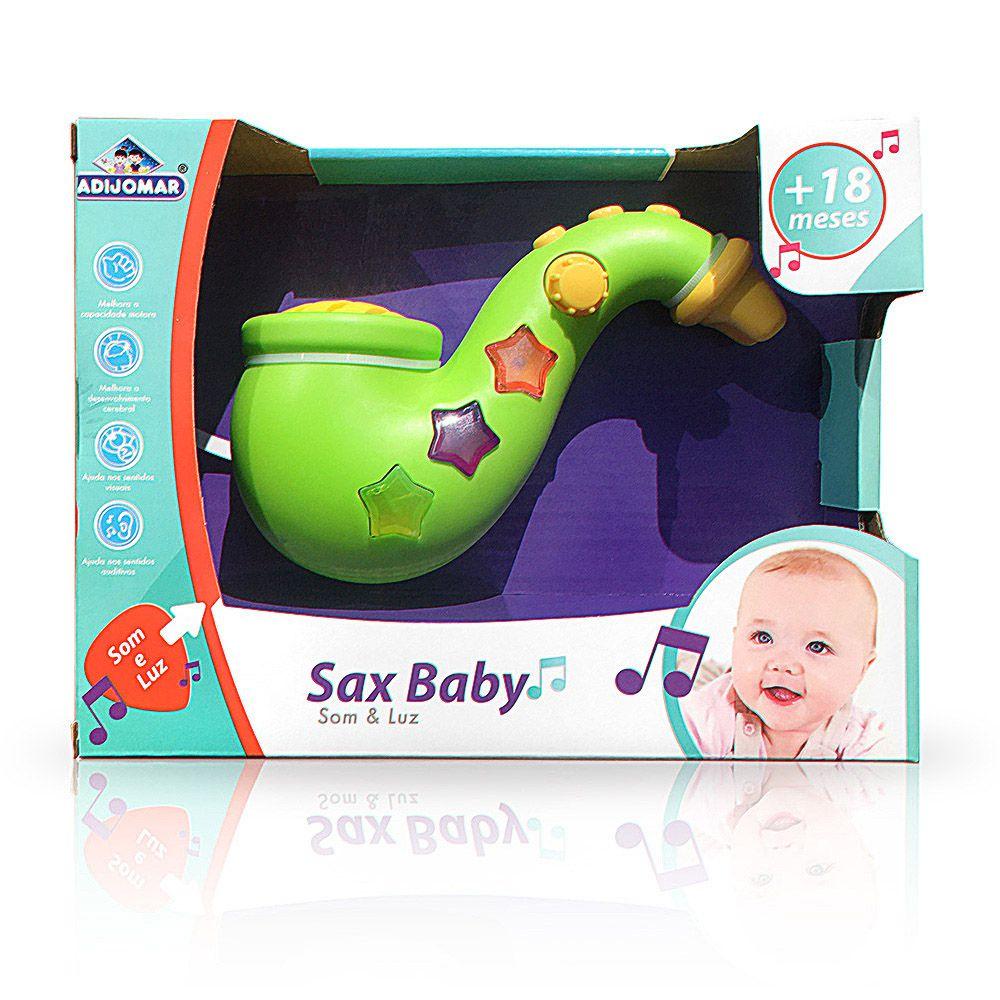 Saxofone Baby - Com Som e Luz - Adijomar
