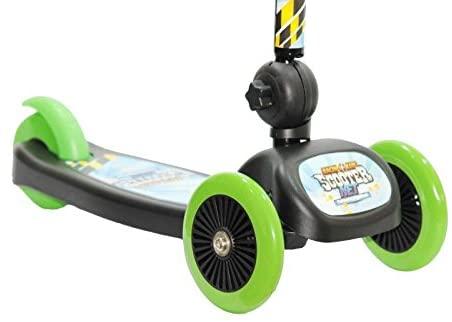 Patinete Scooter - Racing Club - Verde - Com Três Rodas - Zoop Toys
