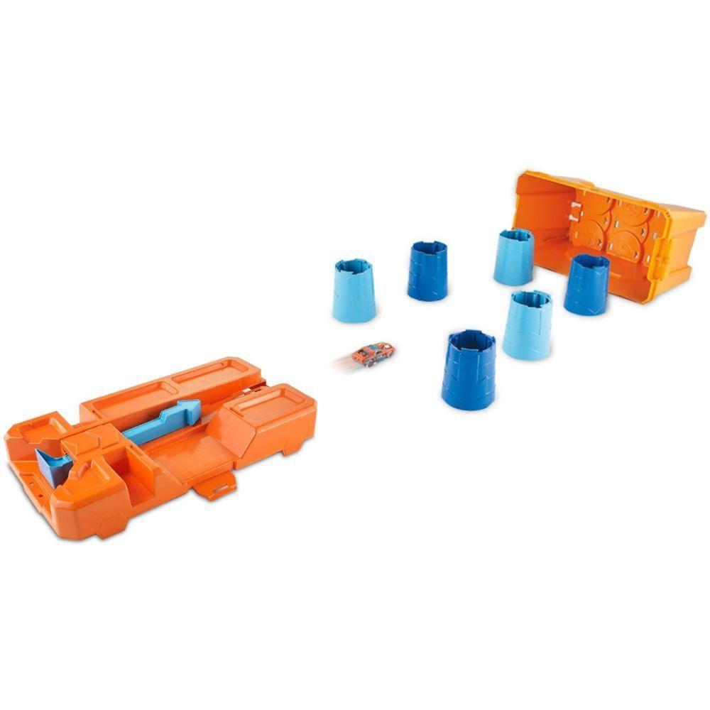 Hot Wheels - Track Builder - Barrel Box - Mattel