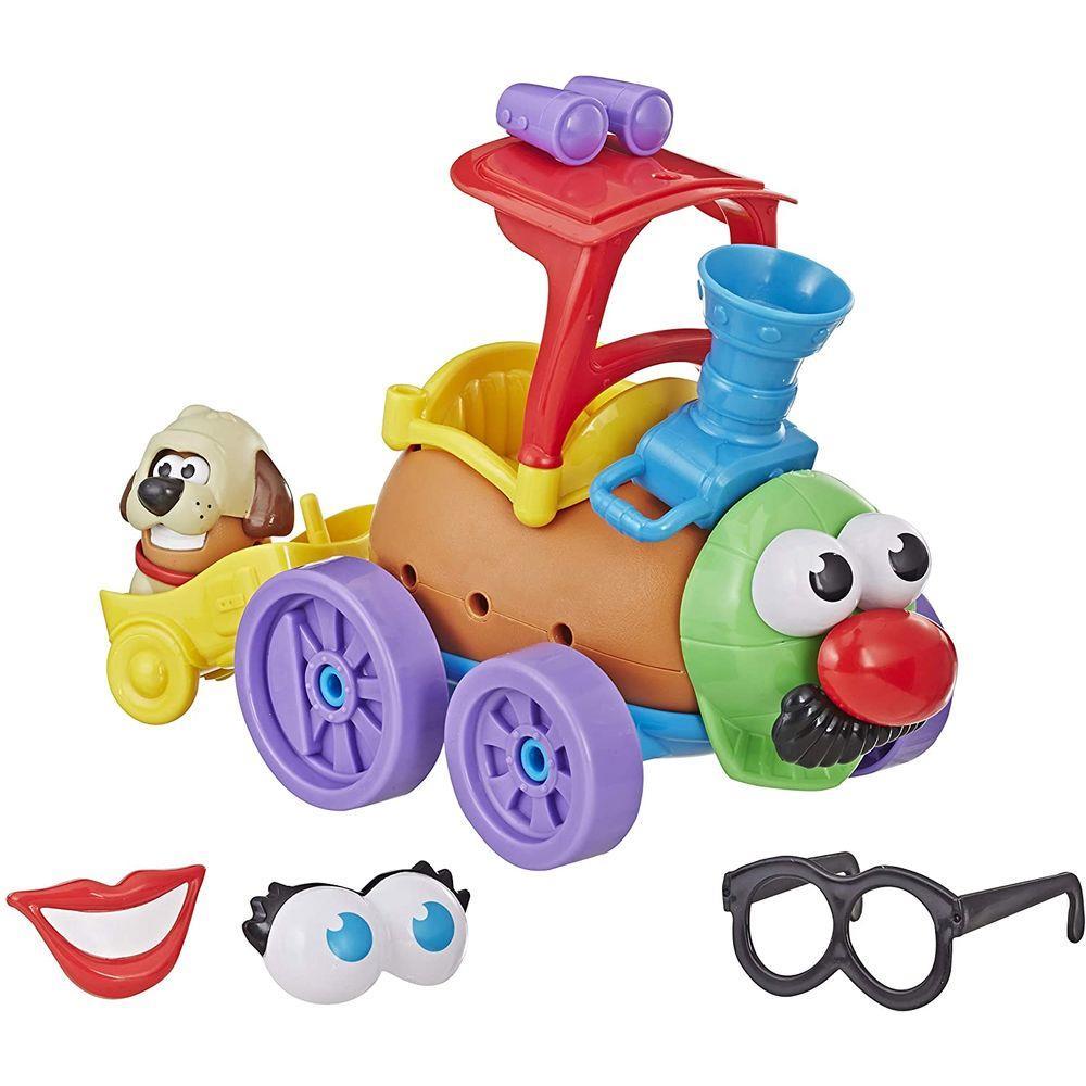 Boneco Sr. Cabeça de Batata - Veículos Malucos- Trem Divertido - Playskool - Hasbro