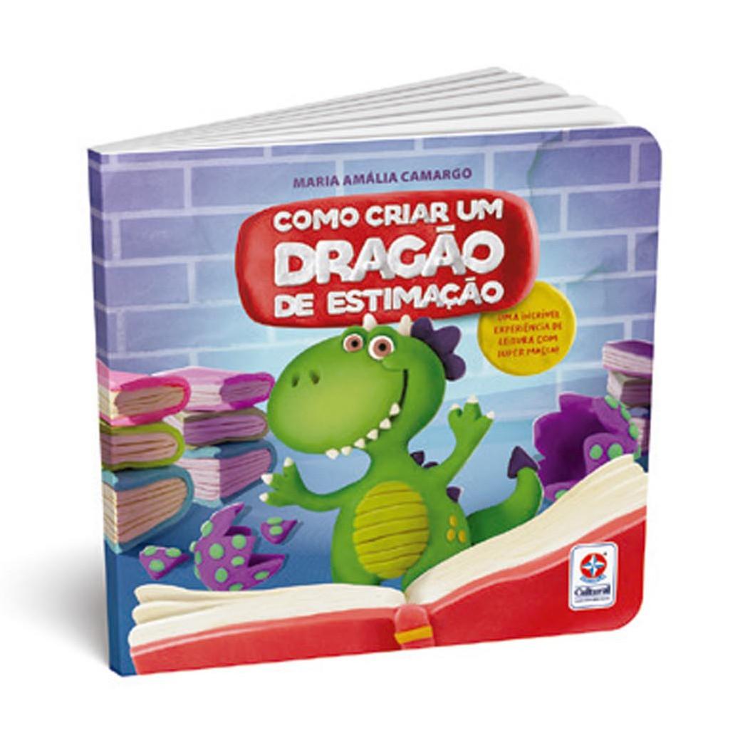 Super Massa - Meu Dragão Com Livro - Estrela