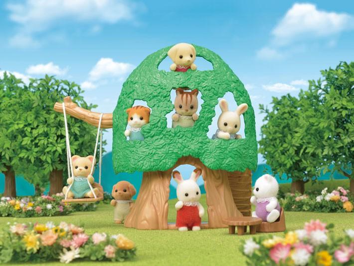 Sylvanian Families - Casa na Árvore do Bebê - Epoch