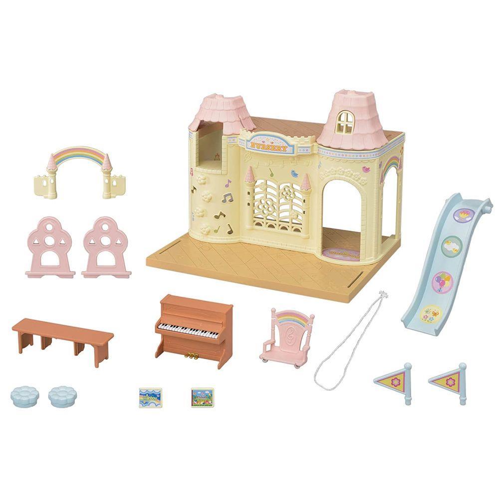 Sylvanian Families - Castelo Jardim da Infância - Epoch
