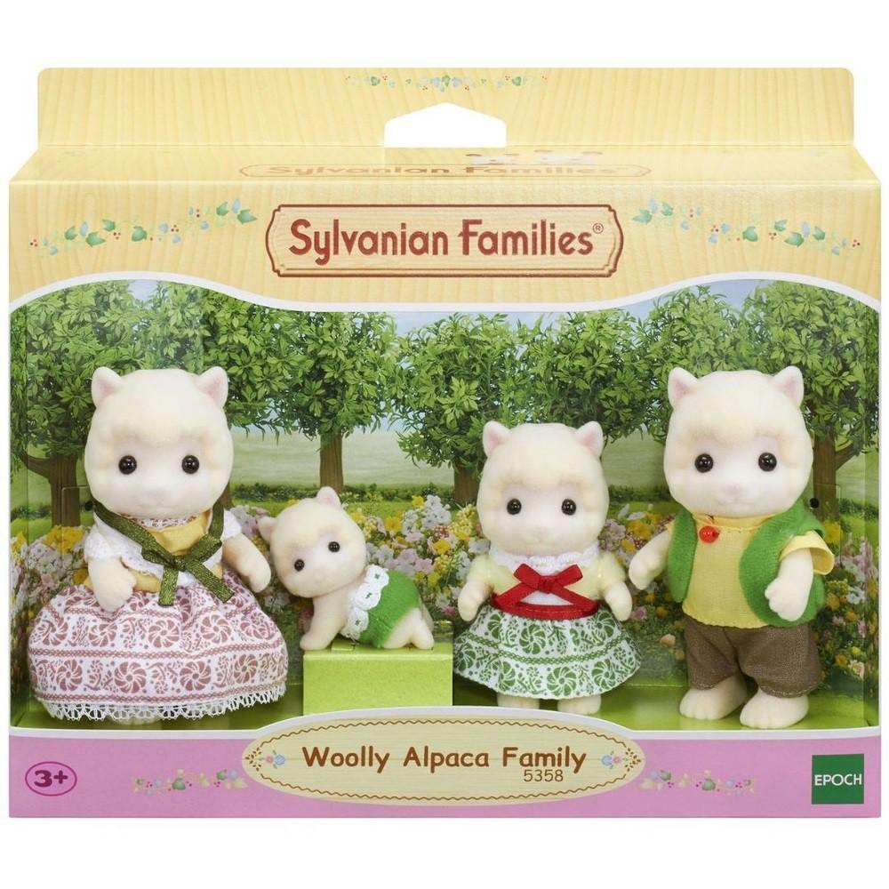 Sylvanian Families - Família de Alpacas  - Epoch