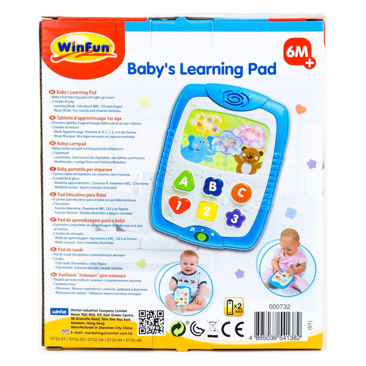 Tablet Divertido - Com Som e Luz - WinFun