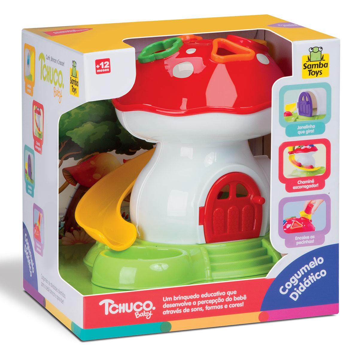 Tchuco Baby - Cogumelo Didático - Samba Toys